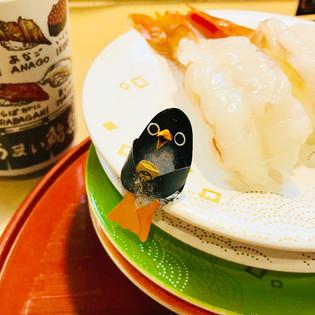 しばらくバイバイのお寿司