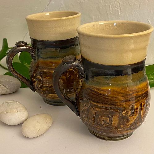 2 Mug Set