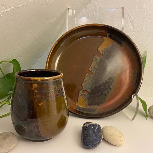 Mug and plate gift set