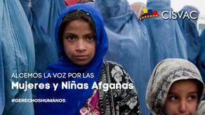 Alcemos la voz por las Mujeres y Niñas de Afganistán