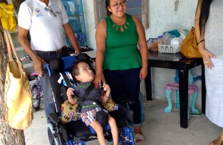 Cambiando vidas: Donación de Silla de Ruedas.