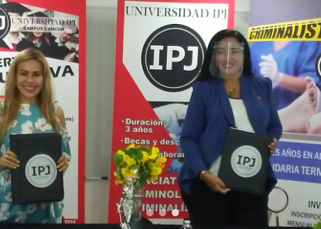 Instituto IPJ y CISVAC firman importante convenio educativo.