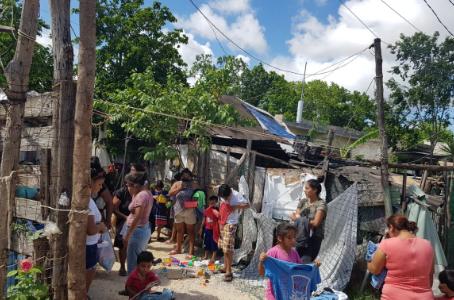 Guerreras humanitarias de CISVAC llevaron alegría a Colonia La Unión