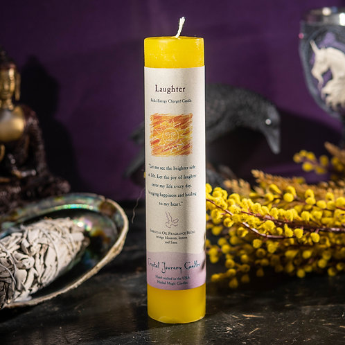 Reiki Candle: Laughter
