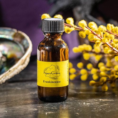 AzureGreen Frankincense Oil (1oz)