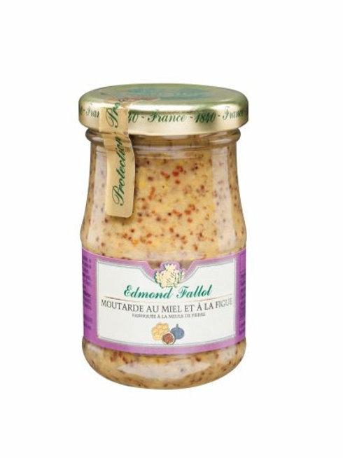 Edmond Fallot Moutarde Honey & Fig Mustard10cl