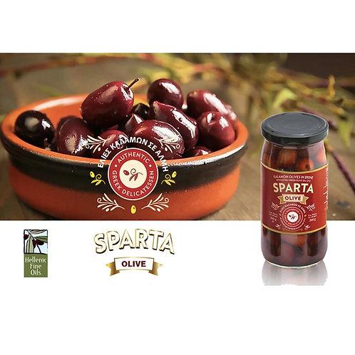 Sparta Kalamon Olives 360g jar