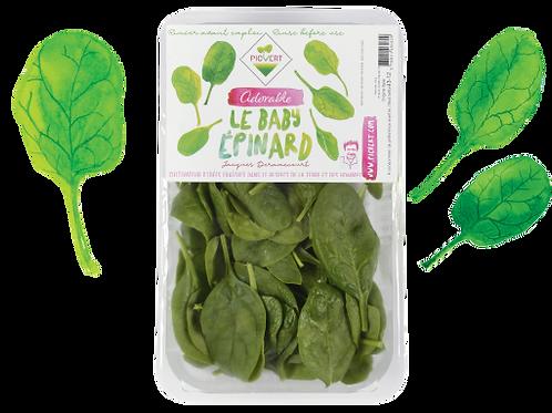 Fresh Baby Spinach 125g