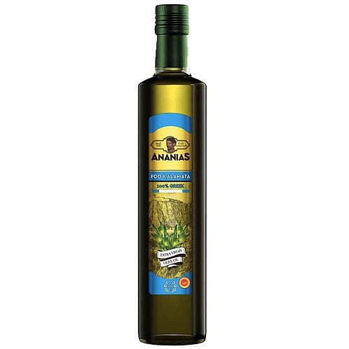 Ananias Kalamata Extra Virgin Olive Oil  500ml btl