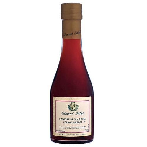 Edmond Fallot Merlot Red Wine Vinegar 250ml