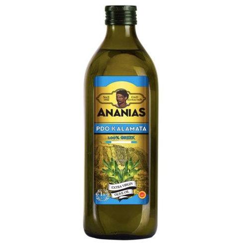 Ananias Kalamata Extra Virgin Olive Oil 1 litre btl