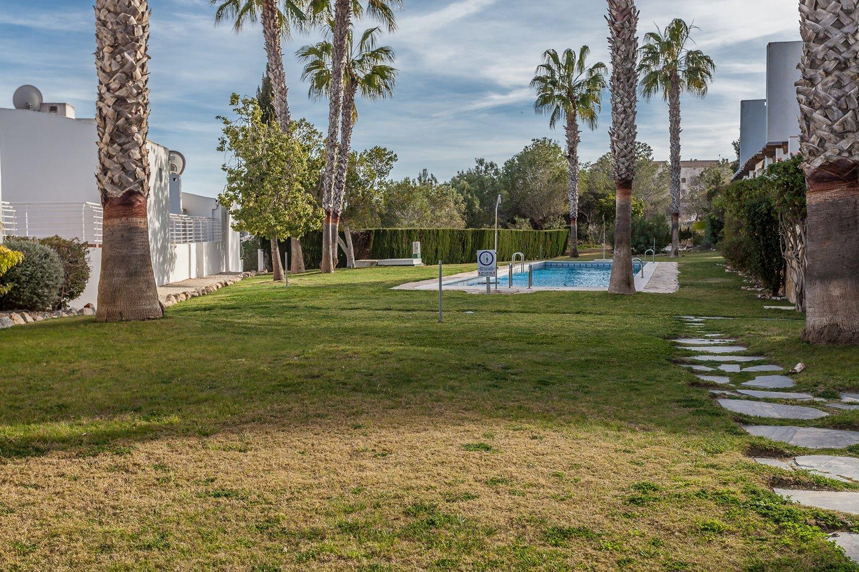 communal pool & gardens