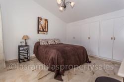 Master bedroom + en suite
