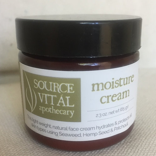 Moisture Cream- 2.4 oz