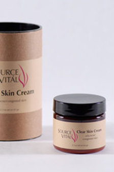 Clear Skin Cream- 2.3 oz