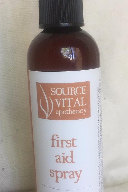 First Aid Spray- 4.46 oz