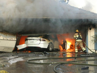 Federal regulators warn of risks to firefighters from electrical vehicle fires