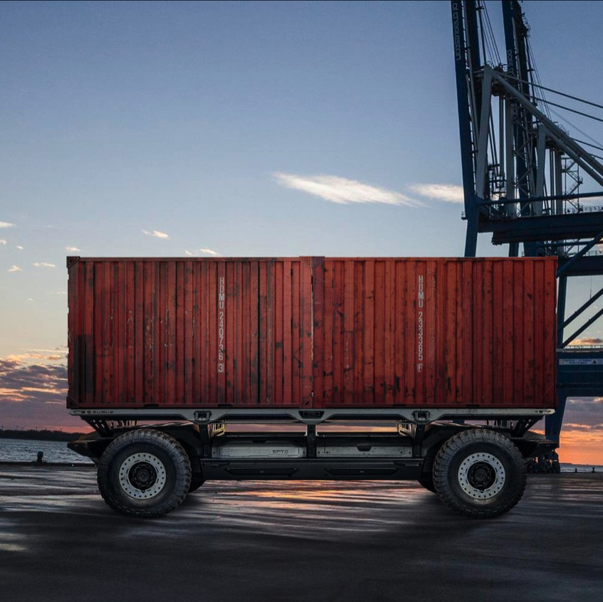 driverless container