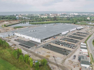 Gov. Cuomo 'blown away' by SolarCity's (soon-to-be Tesla's) new 'Gigafactory' after visit