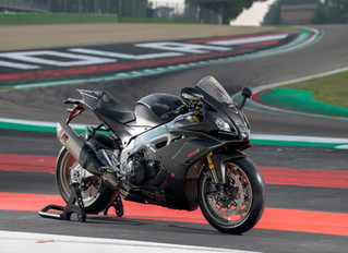Aprilia unveils new RSV4 1100 Factory for 2019 (now comes with a lithium ion battery!)