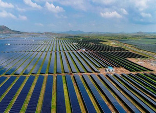 The biggest solar parks in the world are now being built in India