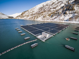 The World's First Mountain Solar Farm is 50% More Efficient