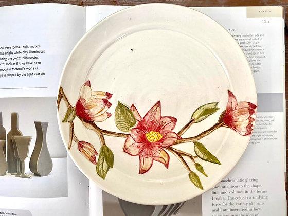 Handpainted plate