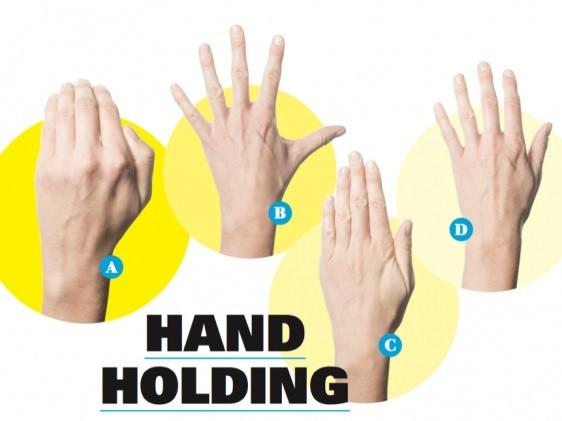 Katera od navedenih pozicij dlani je najprimernejša za plavanje?