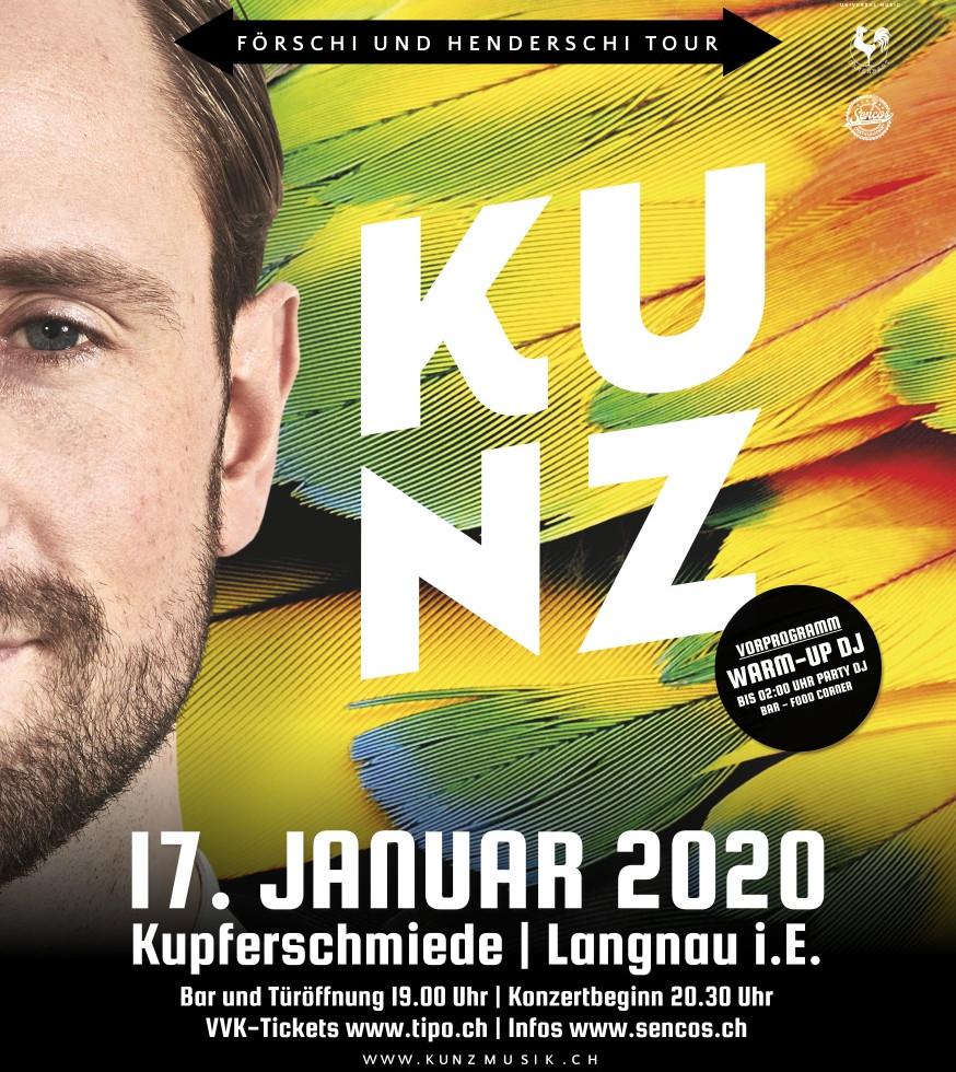 KUNZ @ Kupferschmiede Langnau i.E. - 17.