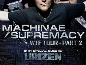 URIZEN TO TOUR EUROPE IN SUPPORT OF MACHINAE SUPREMACY