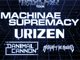 URIZEN Joins Machinae Supremacy for the MAGFest Expansion Pack US Tour
