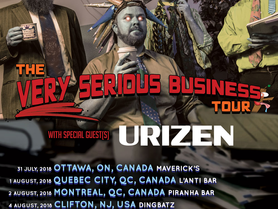 URIZEN Joins Psychostick's Very Serious Business Tour!