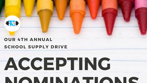 Our 4th Annual School Supply Drive