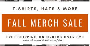 Fall Merch Sale
