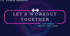 September Online Workout Challenge