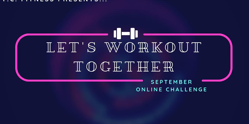 Online Workout Challenge - Register Now
