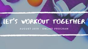 Let's Workout Together, Online!