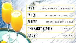 Sip, Sweat, & Stretch Pop-Up