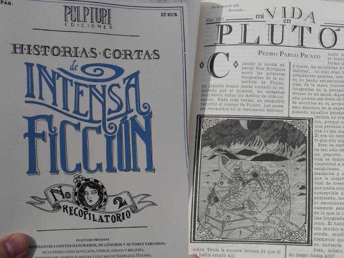 """""""Mi vida en Plutón"""" en Historias Cortas de Intensa Ficción nº 2"""