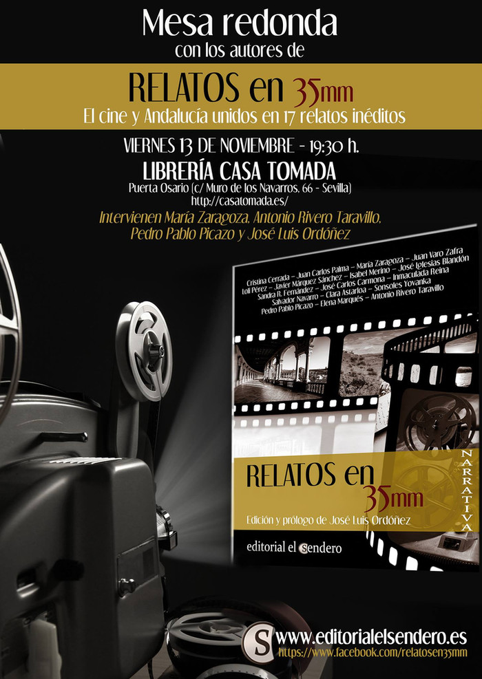 "Mesa redonda en Sevilla sobre ""Relatos en 35mm"""