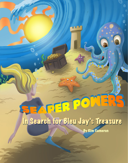 Seaper Powers Bleu Jays Hard Cover New 7
