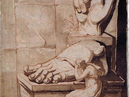 Sílvia Bento: The Artist's Despair Before the Grandeur of Ancient Ruins