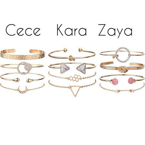Centered Bae Bracelet Sets