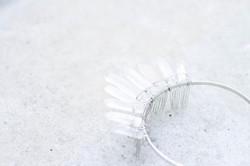 Clear Quartz Crown Headband