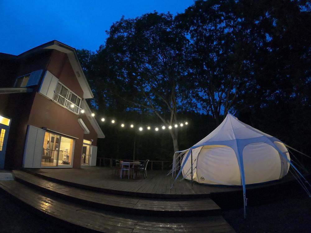 みなかみ町 グランピング 沼田市 水上 群馬 airbnb エアービーアンドビー ワオグラ 女子キャンプ  女子旅 おすすめ