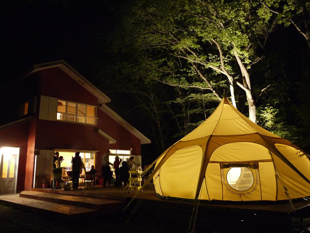 ワオグラ ワオグランピングコテージ キャンプ グランピング ラフティング カヌー 女子旅 女子キャンプ