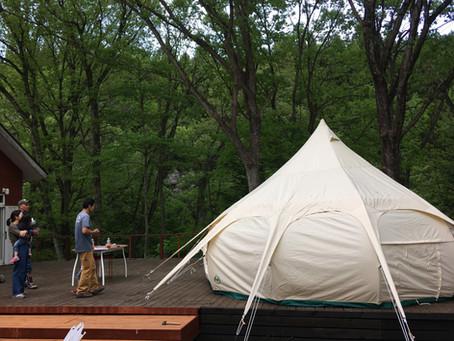 ワオグラのテントはロータスベルテント