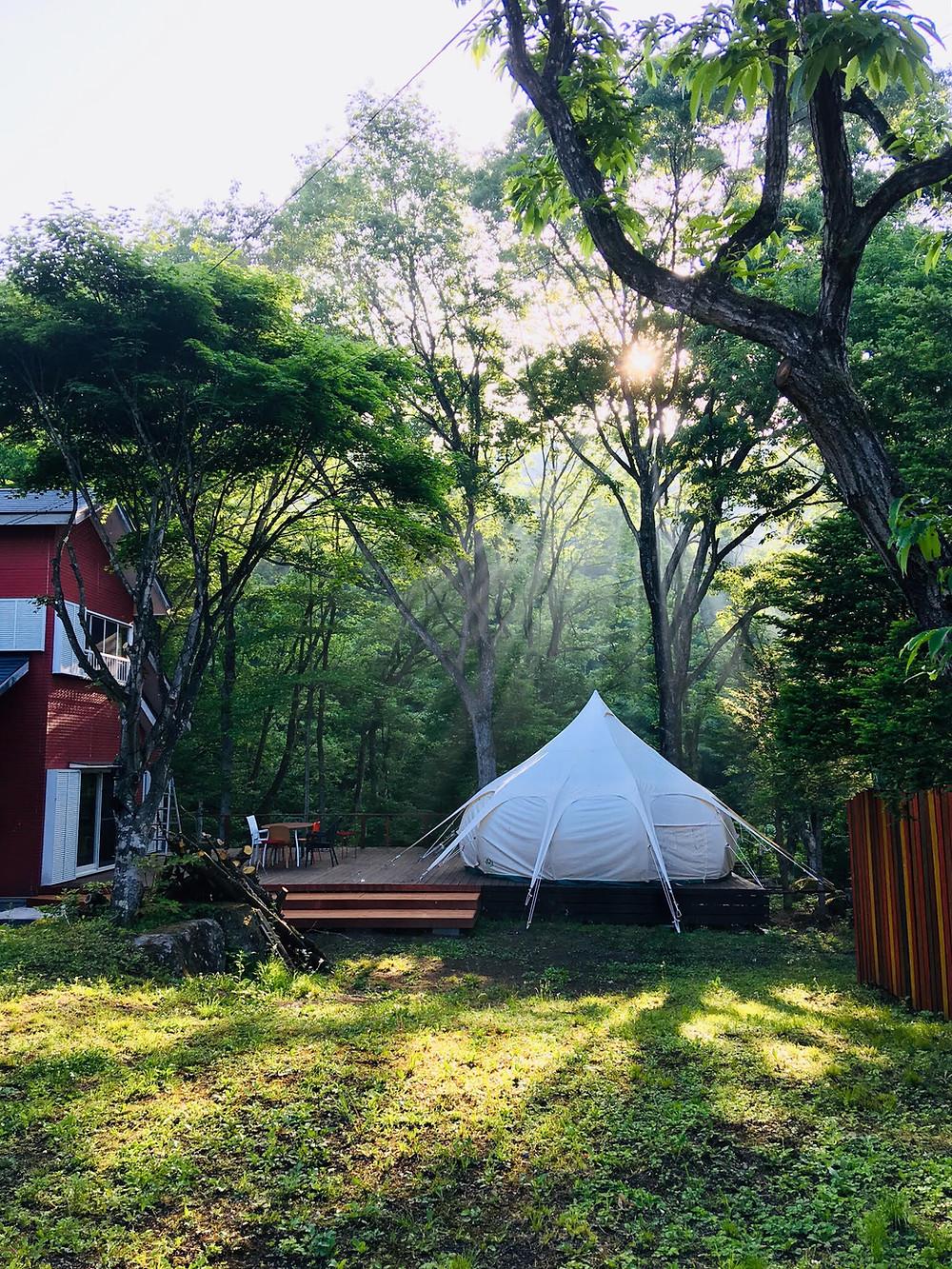 ワオグランピングコテージ ワオグラ 群馬 みなかみ 沼田 グランピング キャンプ