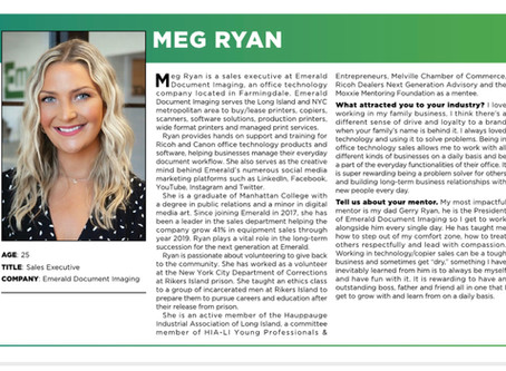 Emerald Sales Executive Meg Ryan, an honoree for Long Island Business News 30 under 30