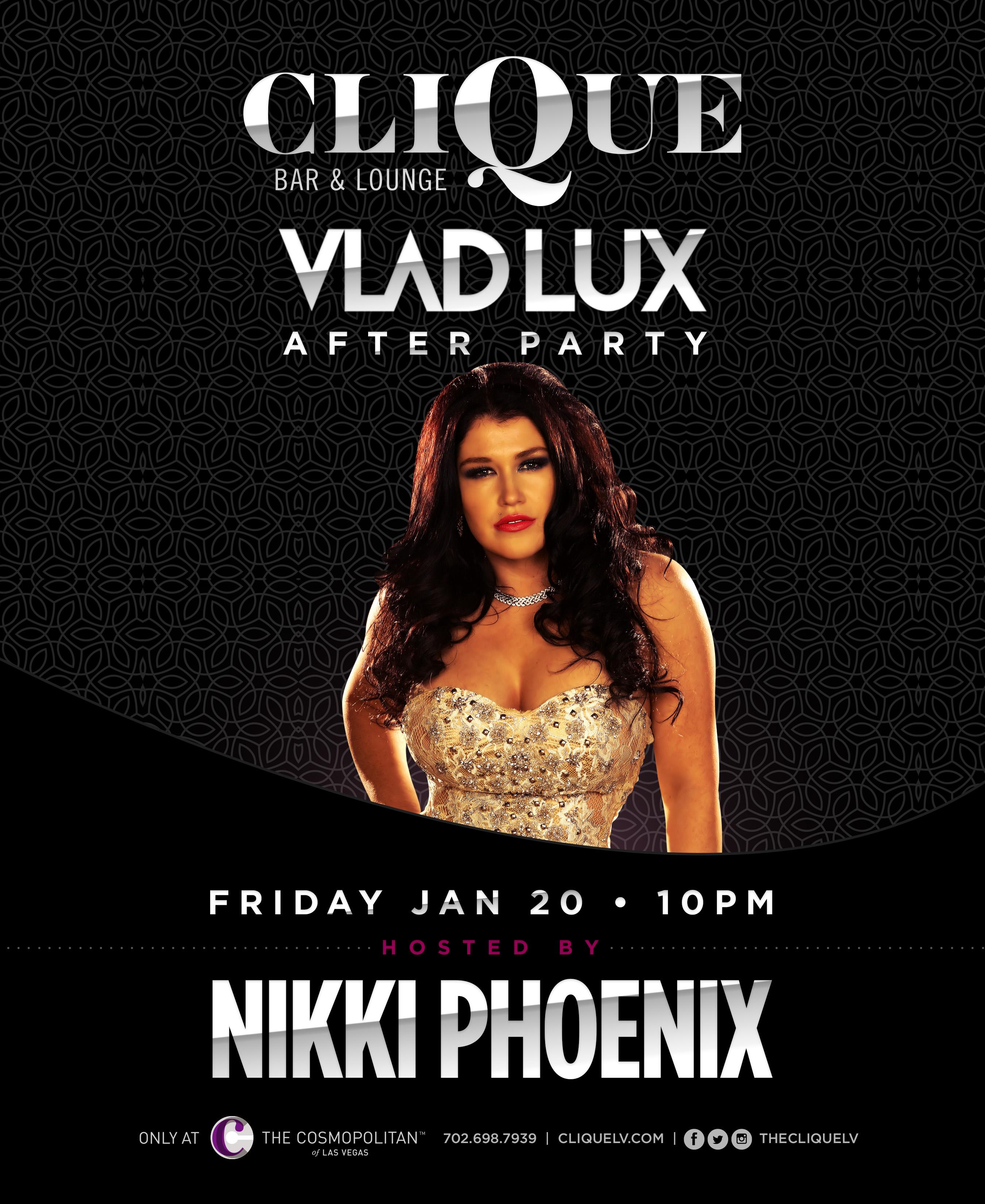 Nikki Phoenix and Vlad Lux at CliQue